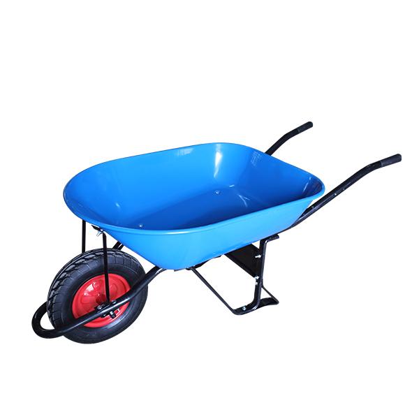 Carretilla azul